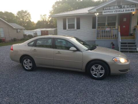2008 Chevrolet Impala for sale at Wheel Tech Motor Vehicle Sales in Maylene AL