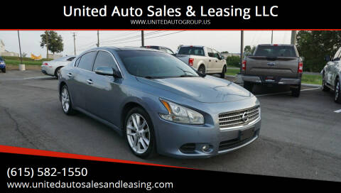 2011 Nissan Maxima for sale at United Auto Sales & Leasing LLC in La Vergne TN