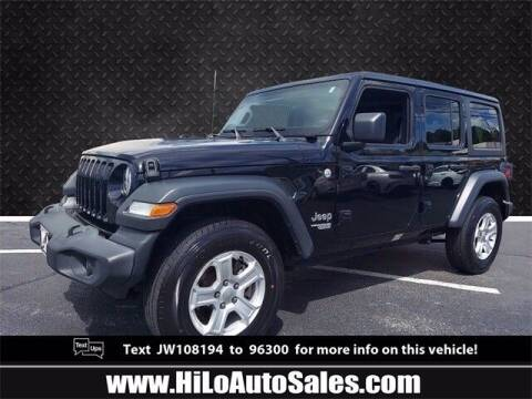 2018 Jeep Wrangler Unlimited for sale at BuyFromAndy.com at Hi Lo Auto Sales in Frederick MD