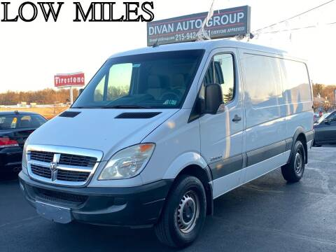 2008 Dodge Sprinter Cargo for sale at Divan Auto Group in Feasterville PA