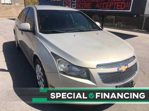 2011 Chevrolet Cruze for sale at Rock Star Auto Sales in Las Vegas NV