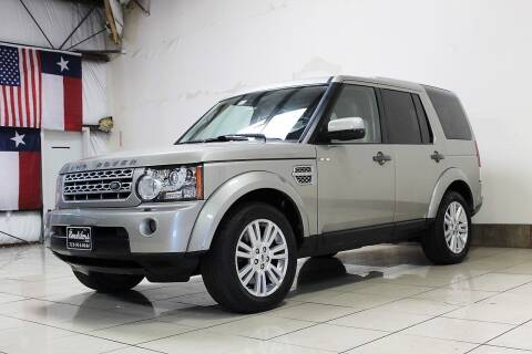 2011 Land Rover LR4 for sale at ROADSTERS AUTO in Houston TX