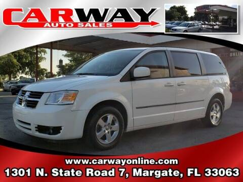 2010 Dodge Grand Caravan for sale at CARWAY Auto Sales in Margate FL