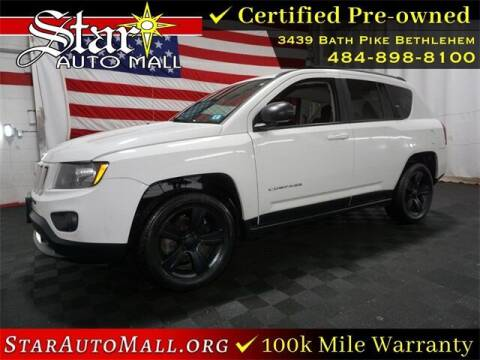 2016 Jeep Compass for sale at STAR AUTO MALL 512 in Bethlehem PA