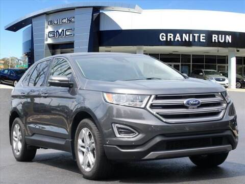 2017 Ford Edge for sale at GRANITE RUN PRE OWNED CAR AND TRUCK OUTLET in Media PA