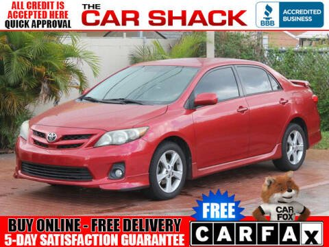 2011 Toyota Corolla for sale at The Car Shack in Hialeah FL