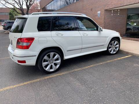 2010 Mercedes-Benz GLK for sale at AROUND THE WORLD AUTO SALES in Denver CO