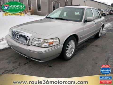 2011 Mercury Grand Marquis for sale at ROUTE 36 MOTORCARS in Dublin OH
