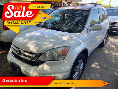 2010 Honda CR-V for sale at Cherokee Auto Sales in Acworth GA