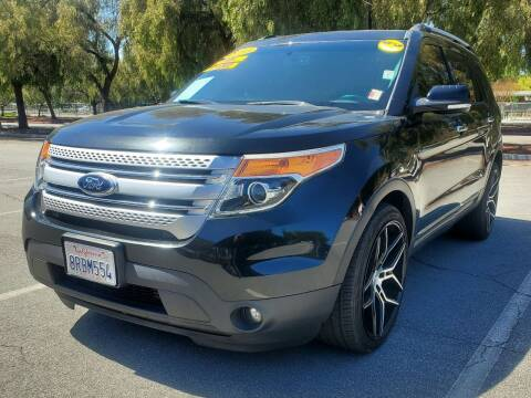 2013 Ford Explorer for sale at ALL CREDIT AUTO SALES in San Jose CA
