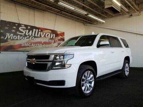 2015 Chevrolet Tahoe for sale at SULLIVAN MOTOR COMPANY INC. in Mesa AZ