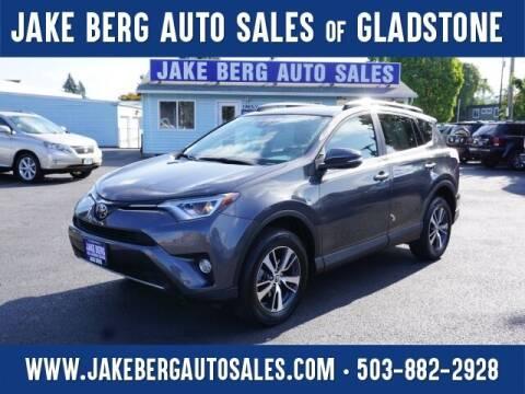 2017 Toyota RAV4 for sale at Jake Berg Auto Sales in Gladstone OR