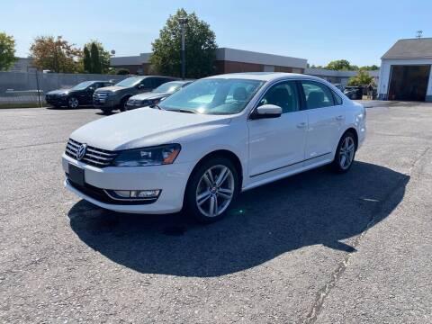 2014 Volkswagen Passat for sale at Riverside Auto Sales & Service in Portland ME