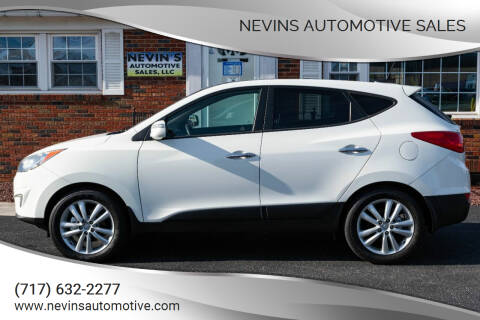 2013 Hyundai Tucson for sale at Nevins Automotive Sales in Hanover PA
