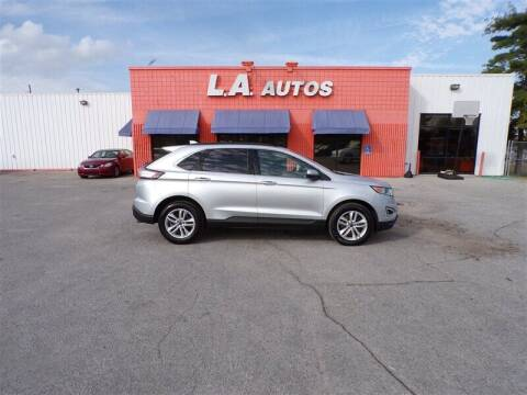 2016 Ford Edge for sale at L A AUTOS in Omaha NE