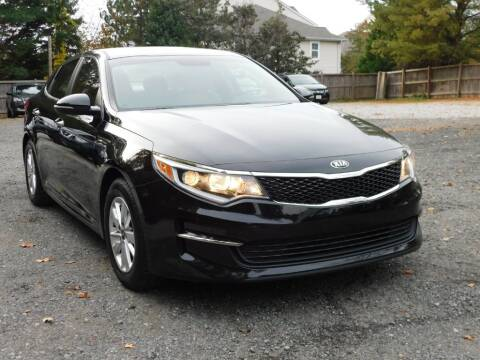 2016 Kia Optima for sale at Prize Auto in Alexandria VA