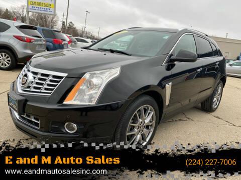 2015 Cadillac SRX for sale at E and M Auto Sales in Elgin IL