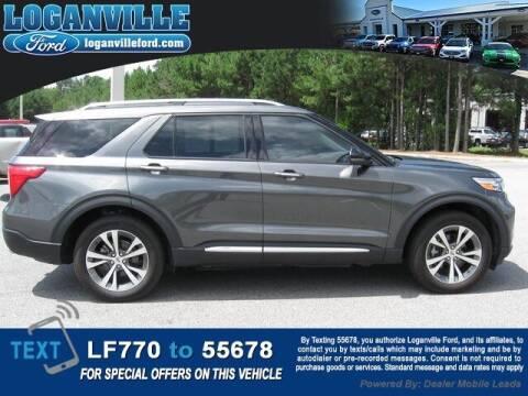 2020 Ford Explorer for sale at Loganville Ford in Loganville GA