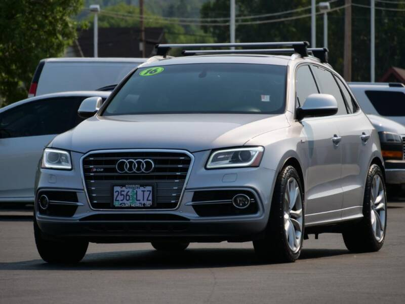 2016 Audi SQ5 for sale at CLINT NEWELL USED CARS in Roseburg OR