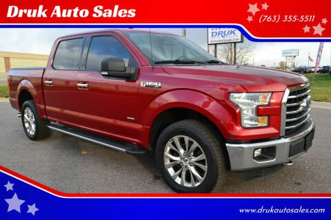 2015 Ford F-150 for sale at Druk Auto Sales in Ramsey MN