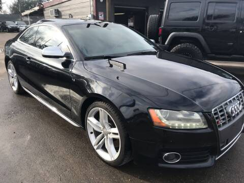 2011 Audi S5 for sale at Texas Luxury Auto in Houston TX