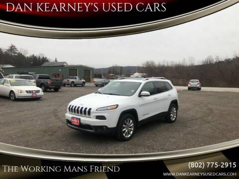 2014 Jeep Cherokee for sale at DAN KEARNEY'S USED CARS in Center Rutland VT