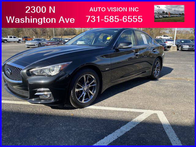 2017 Infiniti Q50 for sale at Auto Vision Inc. in Brownsville TN