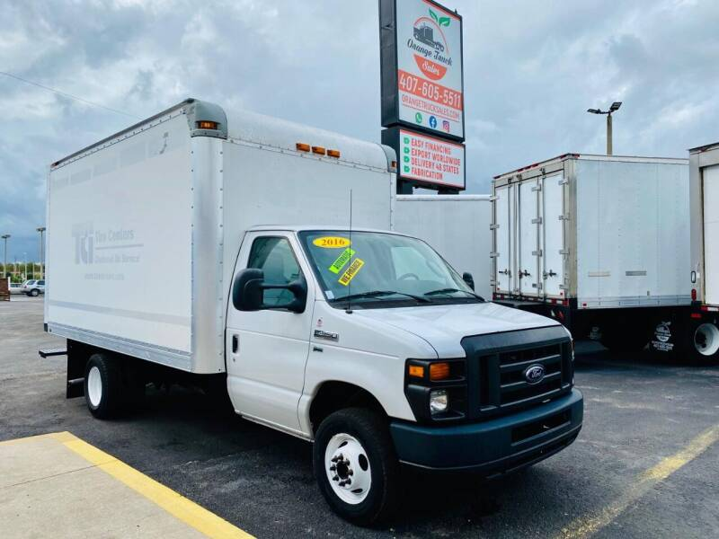2016 Ford E-Series Chassis for sale at Orange Truck Sales in Orlando FL