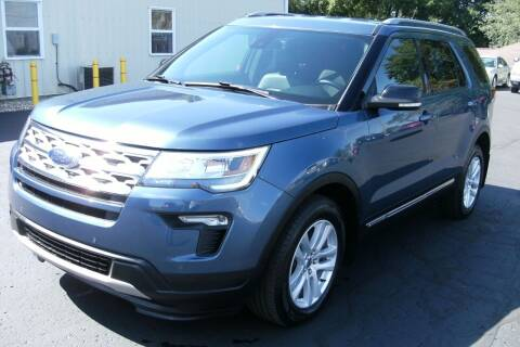 2018 Ford Explorer for sale at Ritchie Auto Sales in Middlebury IN