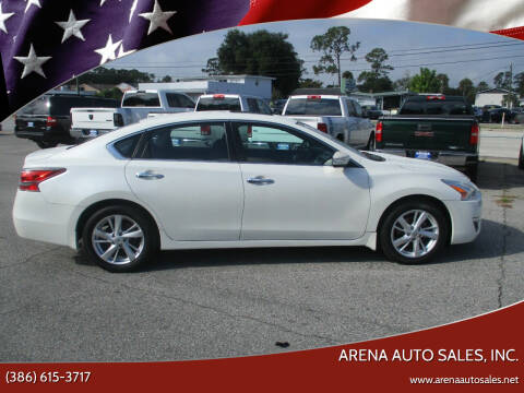 2014 Nissan Altima for sale at ARENA AUTO SALES,  INC. in Holly Hill FL