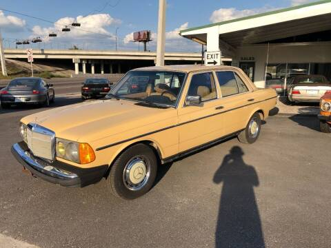 1982 Mercedes-Benz 240-Class for sale at Nort Northam Collection in Winter Park FL