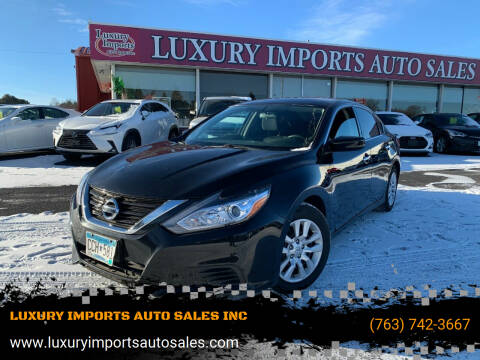 2018 Nissan Altima for sale at LUXURY IMPORTS AUTO SALES INC in North Branch MN
