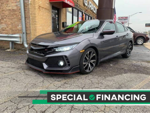 2017 Honda Civic for sale at JBA Auto Sales Inc in Stone Park IL
