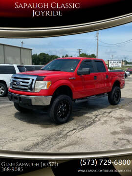 2012 Ford F-150 for sale at Sapaugh Classic Joyride in Salem MO