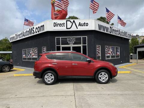 2013 Toyota RAV4 for sale at Direct Auto in D'Iberville MS