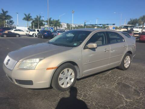 2007 Mercury Milan for sale at CAR-RIGHT AUTO SALES INC in Naples FL