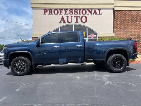 2020 Chevrolet Silverado 3500HD for sale at Professional Auto Sales & Service in Fort Wayne IN