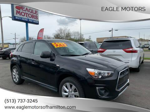 2014 Mitsubishi Outlander Sport for sale at Eagle Motors in Hamilton OH