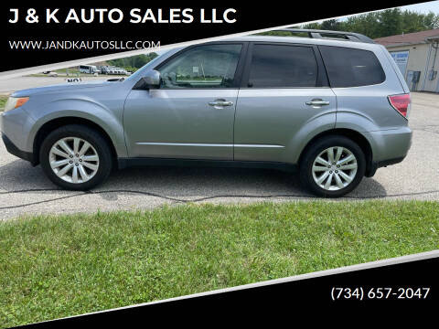 2011 Subaru Forester for sale at J & K AUTO SALES LLC in Holland MI