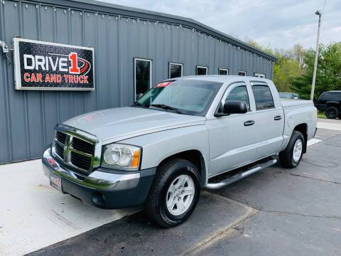 2005 Dodge Dakota for sale at Drive 1 Car & Truck in Springfield OH