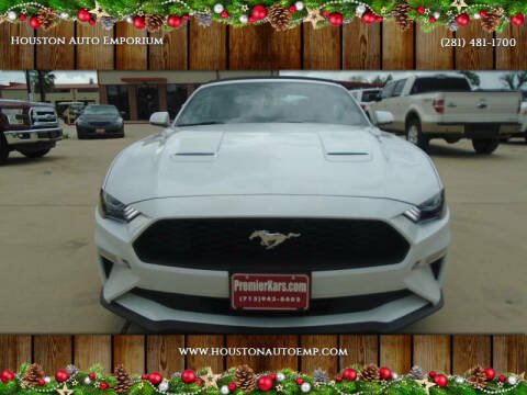 2019 Ford Mustang for sale at Houston Auto Emporium in Houston TX