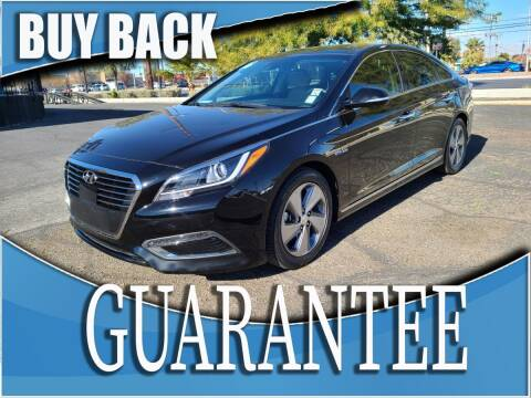 2016 Hyundai Sonata Hybrid for sale at Reliable Auto Sales in Las Vegas NV