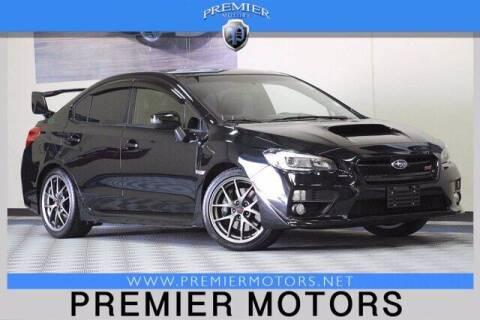 2016 Subaru WRX for sale at Premier Motors in Hayward CA