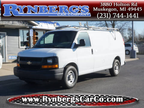 2014 Chevrolet Express Cargo for sale at Rynbergs Car Co in Muskegon MI