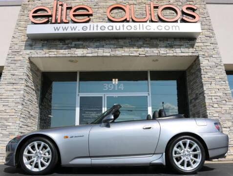 2007 Honda S2000 for sale at Elite Autos LLC in Jonesboro AR
