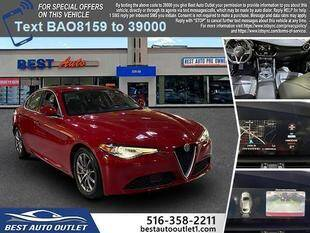 2018 Alfa Romeo Giulia for sale at Best Auto Outlet in Floral Park NY
