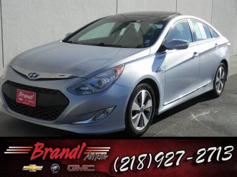 2012 Hyundai Sonata Hybrid for sale at Brandl GM in Aitkin MN