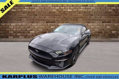 2019 Ford Mustang for sale at Karplus Warehouse in Pacoima CA