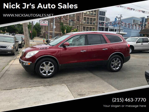2008 Buick Enclave for sale at Nick Jr's Auto Sales in Philadelphia PA