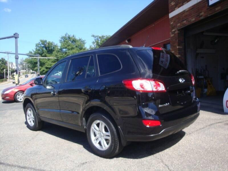 2012 Hyundai Santa Fe for sale at ROSS MOTOR CARS in Torrington CT